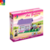 wholesale plastic dream house toy set for girls