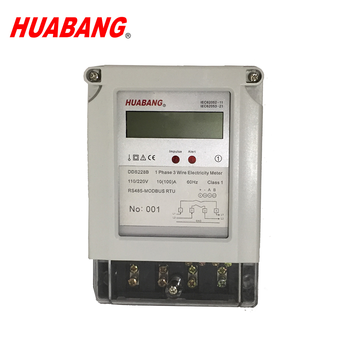 ab51e2498c70fb DDS228B Single phase three wire RS485 Port Modbus Smart Digital Electric  Energy Meters