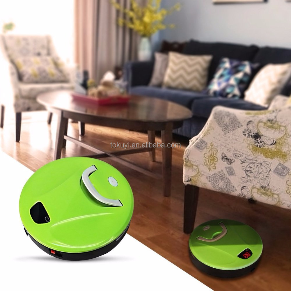 2017 as seen on TV products sweeping robot with rechargeable battery