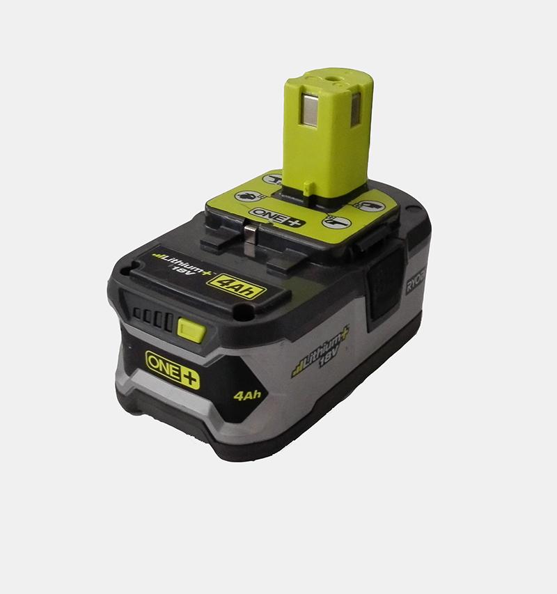 used ryobi p108 18 volt 18v one plus lithium ion high capacity battery on. Black Bedroom Furniture Sets. Home Design Ideas