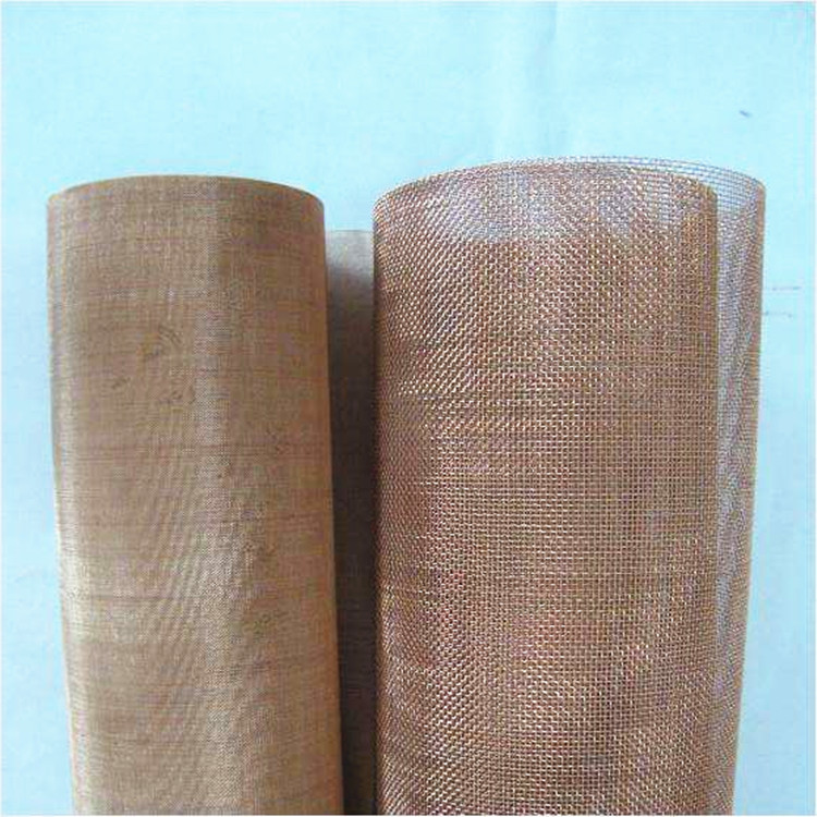 200 Mesh Brass/Phosphor Bronze Woven Wire Mesh Used for Gas and Liquid Filtering