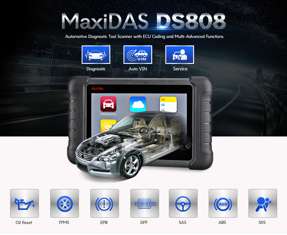 ds808 obd2 functions