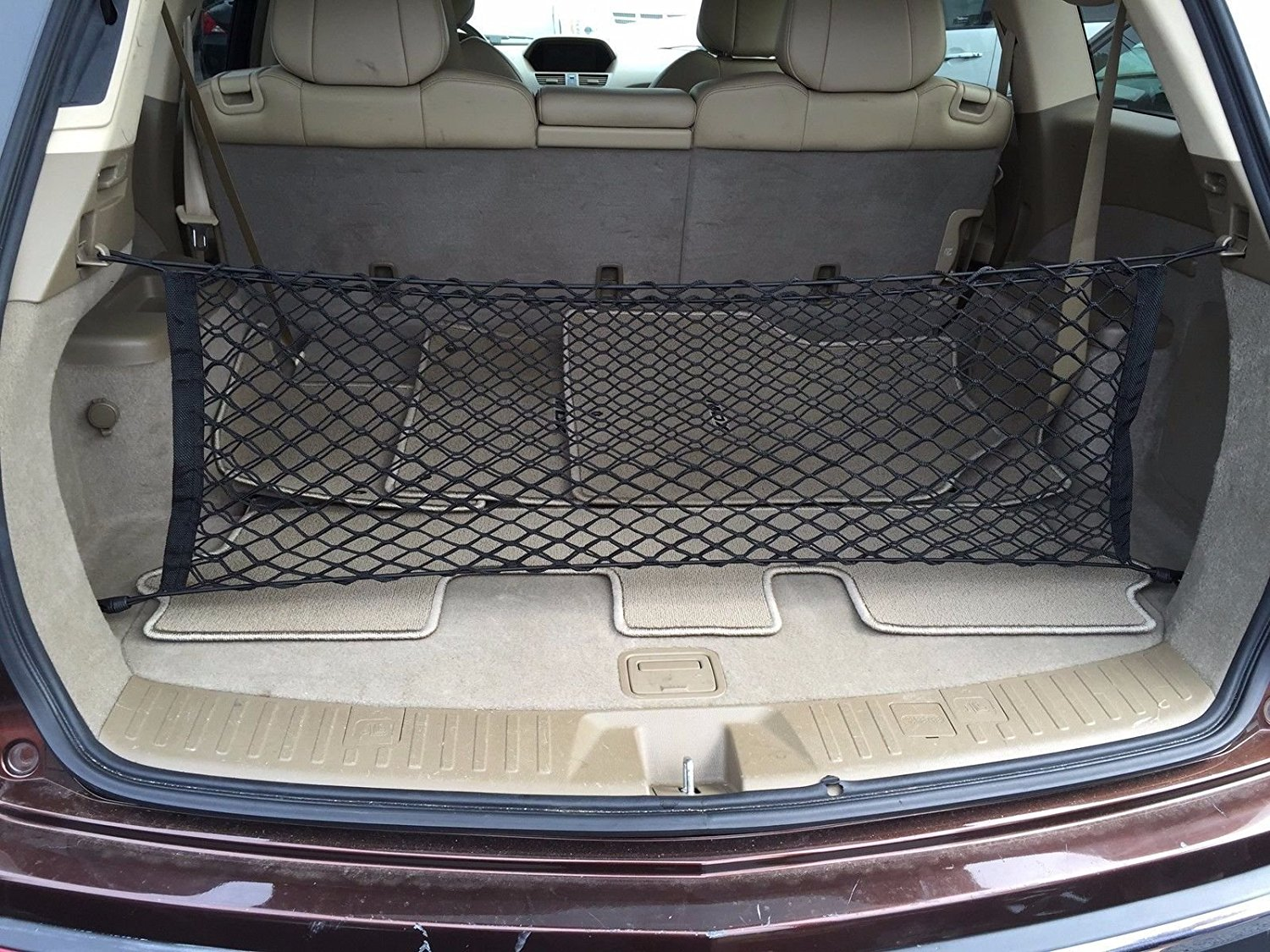2008 2009 2010 2011 2012 Factory Style Black Luggage Carrier Rear Trunk Security Cover By Ikon Motorsports Cargo Cover Fits 2007 2013 Acura Mdx Custom Fit