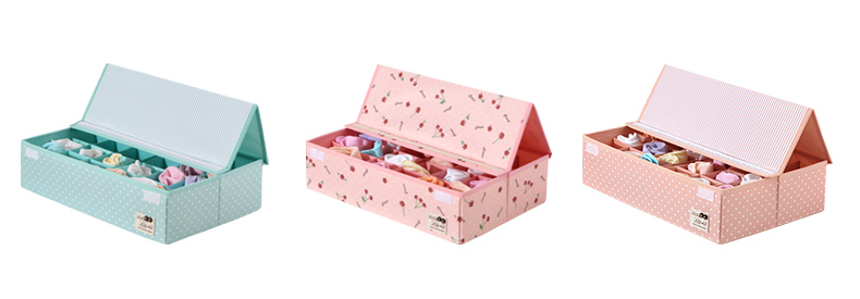 Custom Design Large Eco Friendly Material Fabric Foldable Storage Organization Box For Home Clothes