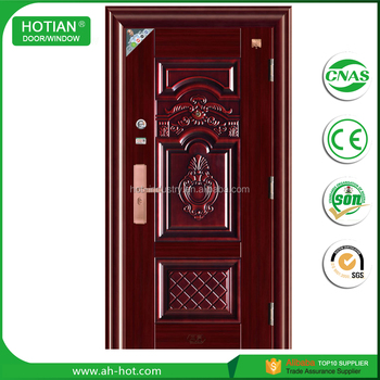 Indian Main Gate Designs Steel Entry Doors/lowes Wrought Iron Exterior Door