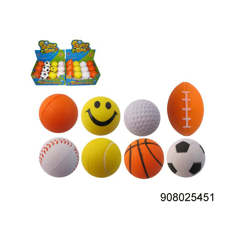 Water game toys elastic pu stress jumping ball