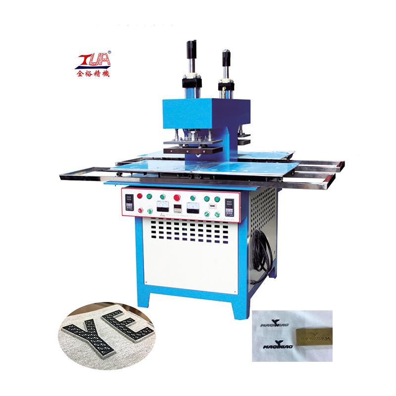 Italy CE Certificate silicone logo heat hydraulic press machine