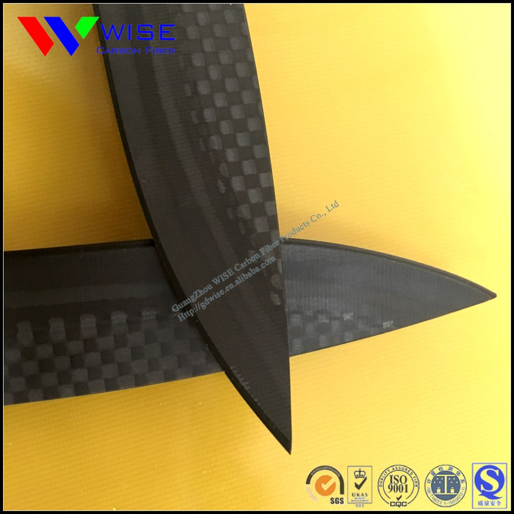 2017 new design carbon fiber products super light carbon fiber knife for outdoor tools