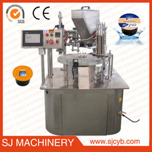 Coffee capsule filling sealing machinery coffee capsule making machine instant coffee filling machine