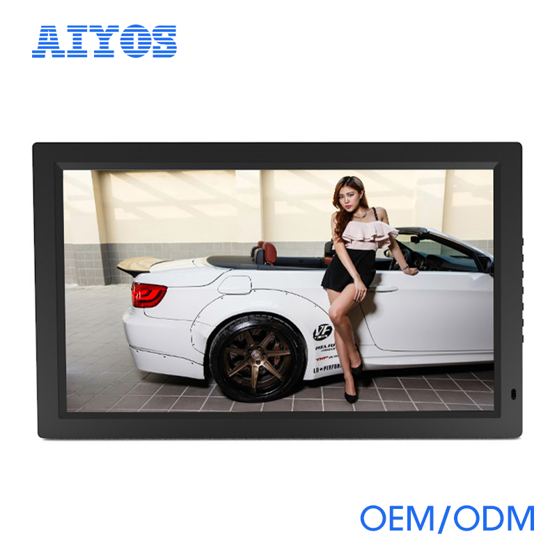 "43"" large screen Best quality digital photo frame with touch screen , motion sensor"
