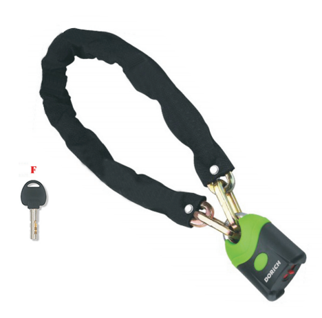 Borita Best Selling Heavy Security Chain Lock for Bicycle