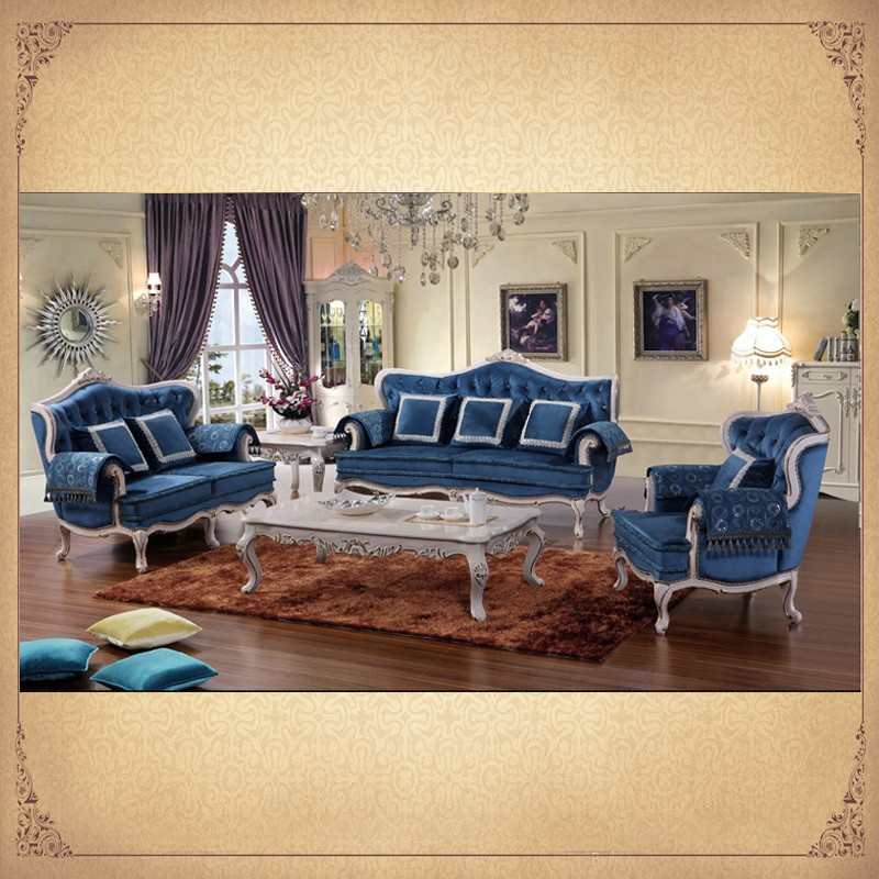 wing antique complete country style living room sets in baroque designs sofa loveseat single. Black Bedroom Furniture Sets. Home Design Ideas