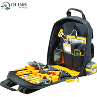 Backpack Tool Bag With Multi-Compartment For Garden Or Electrician