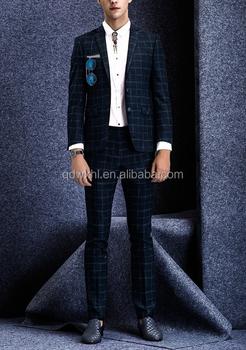 Men Suits New Latest Coat Pant Designs Three Piece Suit Formal Slim