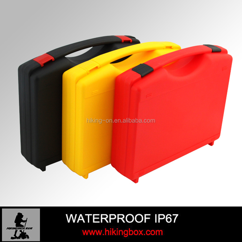Low price small hard plastic case / pp material carry tool case for electronics