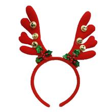 Antler Christmas Head ขนาดเล็ก Bell