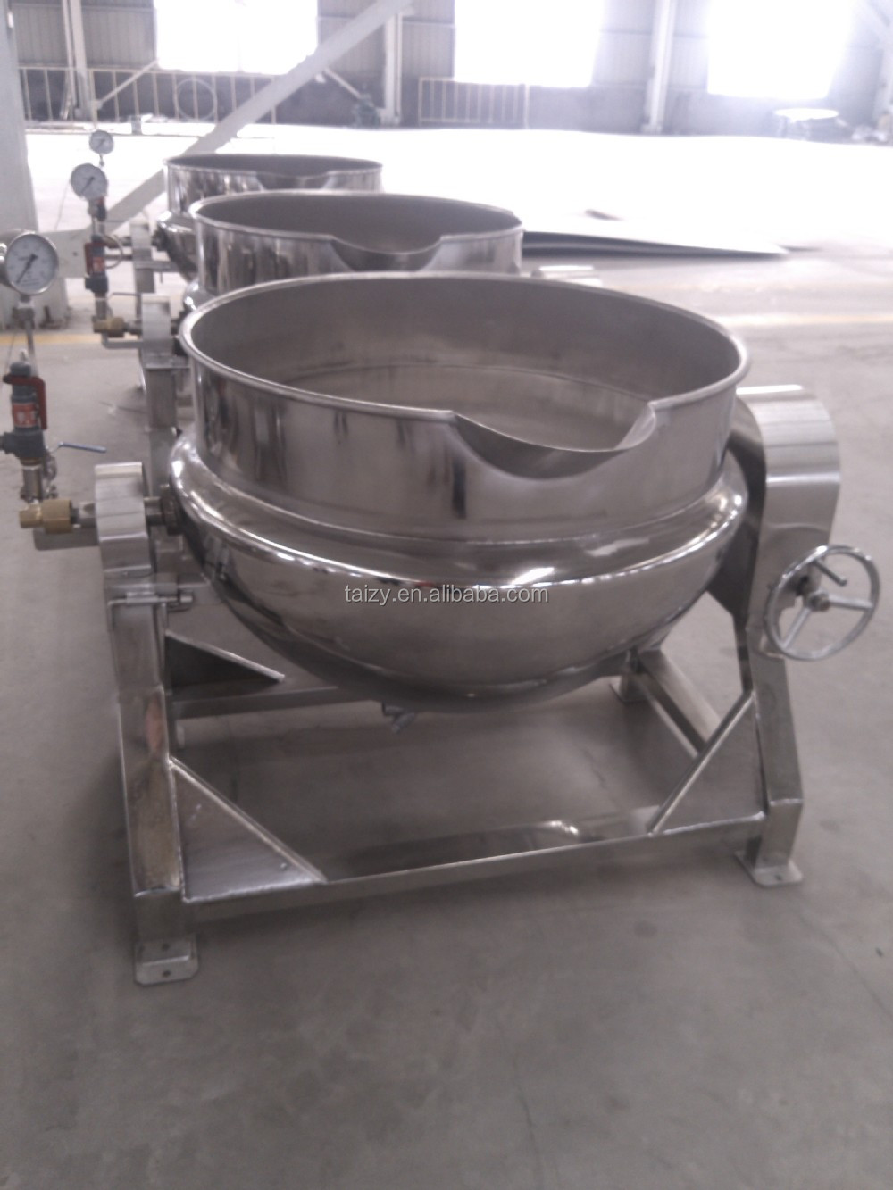 Cozinha Industrial Chaleira Panela A Vapor Industrial Grande Panela