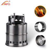 2017 APG Wood Pellet Cooking Stove