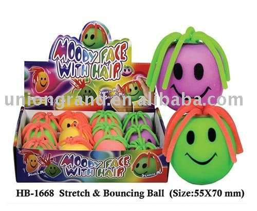 Stretch & Bouncing ball