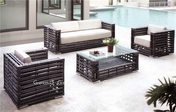 Outdoor Furniture Plastic Rattan Sofa Set Design Buy Outdoor Plastic