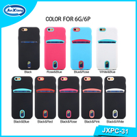 Wholesale PC & TPU Armor Case Cover, 2 in 1 Hybird with card slot phone case cover for Samsung Galaxy S7