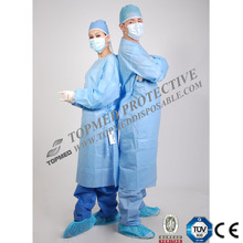 Disposable Medical SMS Operation Theatre Gowns