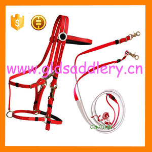 Fancy Cold Resistant PVC horse bridle