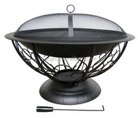 Manufacturer Traditional Ornamental Iron Fire Pit, Backyard Patio Fire place