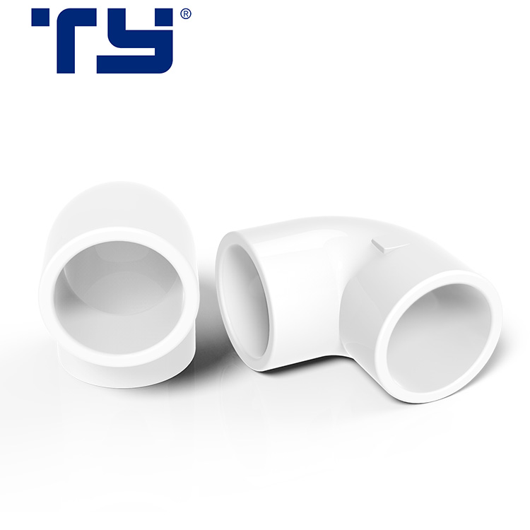 Plastic /PVC /PVC-U SCH 40  water supply connection Socket 90 Deg Elbow fittings