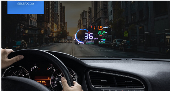 mini led projector a8 obd2 hud head up display car. Black Bedroom Furniture Sets. Home Design Ideas