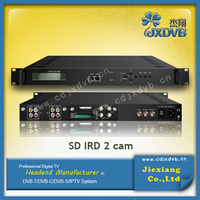 Digital Headend system decoder card sharing satellite receivers/ IPTV Receiver