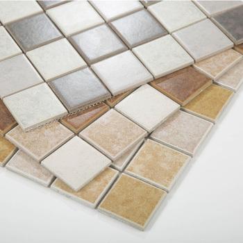 Keramik Rustikalen Mosaik Fliesen Für Küche, Badezimmer Und Dekoration  F48H026