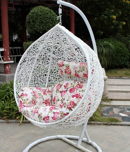 Hanging Basket Indoor Casual Outdoor Wicker Chair Rocking