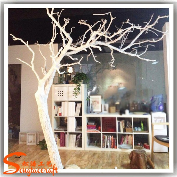 arbre artificiel pas sans feuilles branches blanches pour centres de table d corative branche d. Black Bedroom Furniture Sets. Home Design Ideas