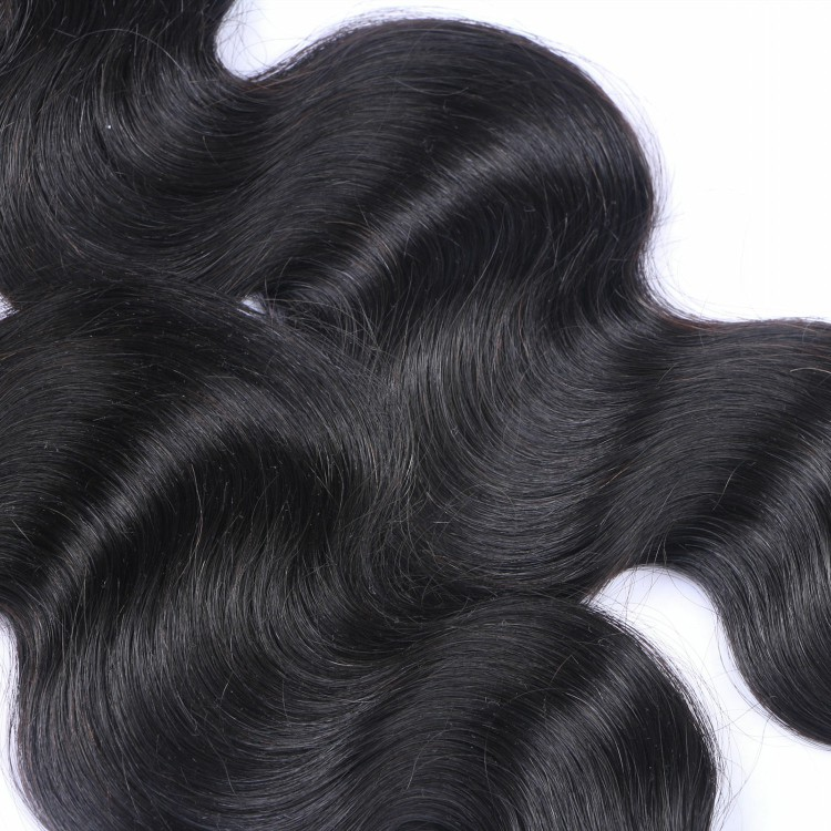 2017 most popular ! Top quality wholesale 3 bundles Brazilian hair weave with closure