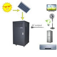 3kw solar power system work for air conditioner