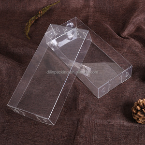 custom plastic blister PVC PET packing box with custom