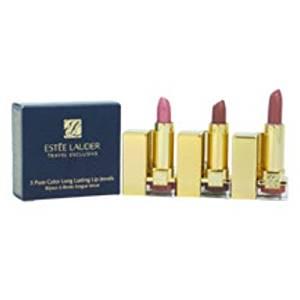 Estee Lauder - 3 Pure Color Long Lasting Lip Jewels Trio (3 Pc Set) 1 pcs sku# 1900533MA