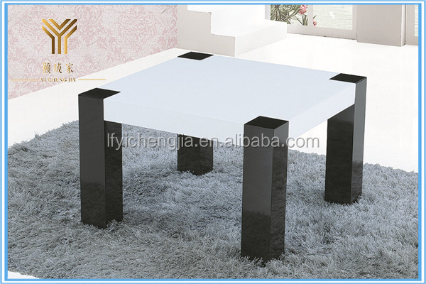 Modern Mirrored Coffee Table Center Table