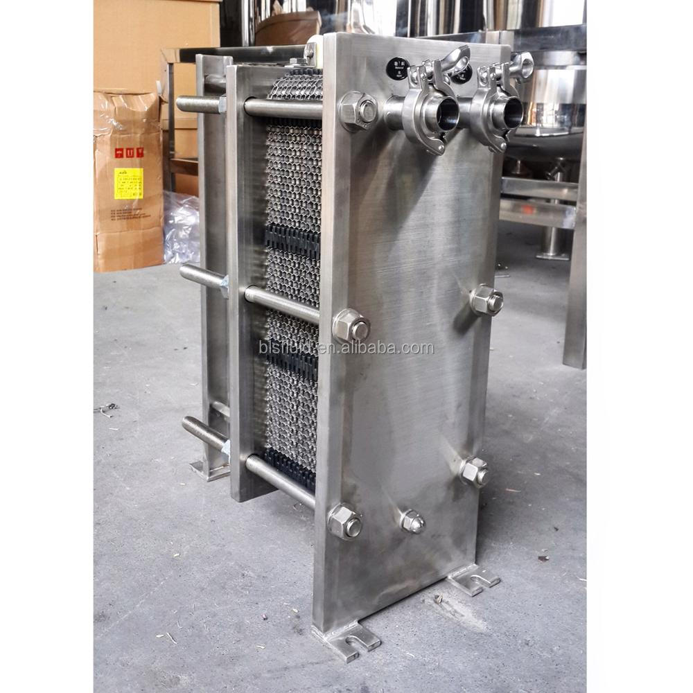 stainless steel 304/316 heat exchanger for liquid