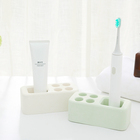 Bathroom Accessories Set Antibacterial and Fast Drying Diatomite Toothbrush Holder Kids