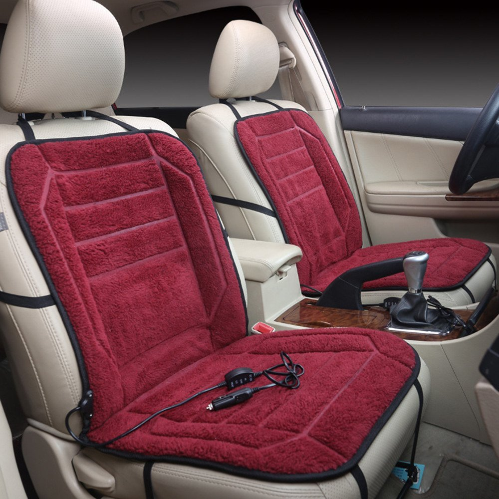 Get Quotations Car Auto Heated Seat Cushion Winter Cold Weather Hot Cover