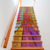 colorful waterproof removable self adhesive vinyl floor stair sticker