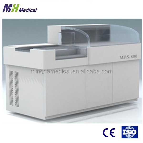 China made Open system MHS-800 full auto blood chemistry analyser