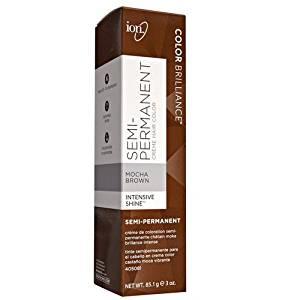 Get Quotations Ion Mocha Brown Semi Permanent Hair Color