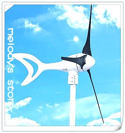 Max power 400w wind turbine generat with dolphin design buid in controller  DC 12v /24v output charge battery directly on sales | Shop
