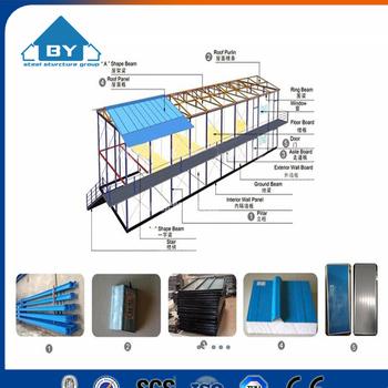 Radiant Cheap Single Or Multi-storey Steel Frame Modular Mobile ...