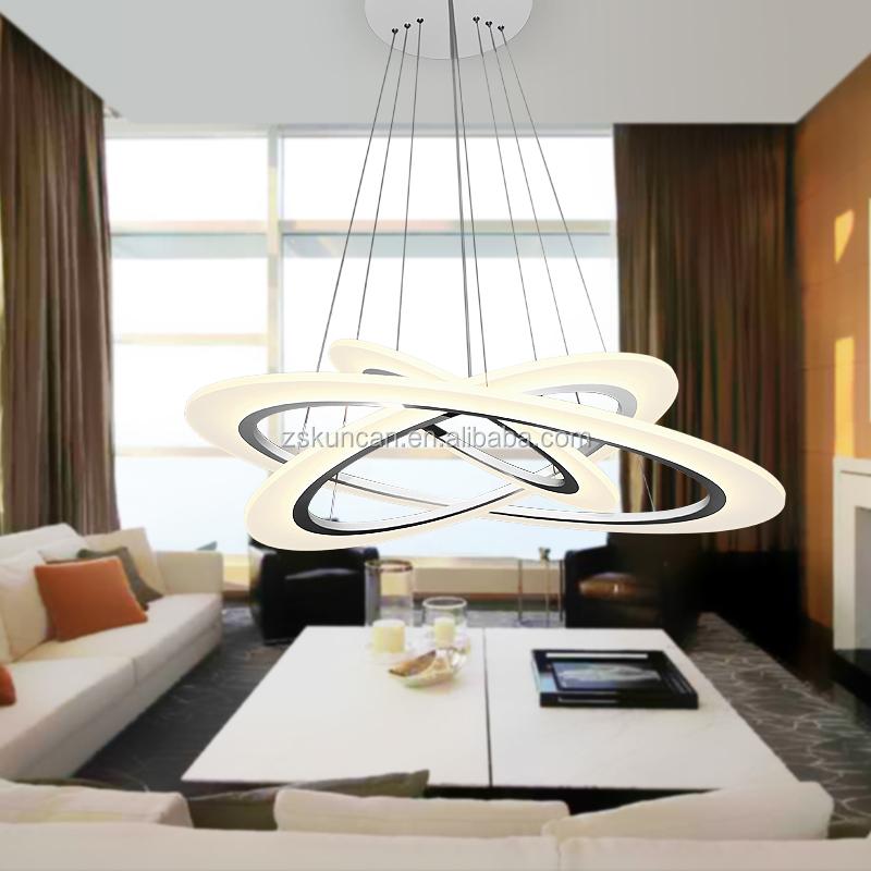 Moderno 3 lampadario ring per soggiorno lampadari id for Lampadari sala da pranzo
