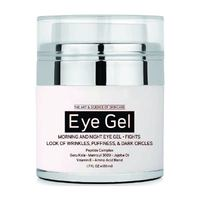 Professional Under and Around Eye Gel For Appearance of Dark Circles, Puffiness, Wrinkles and Bags