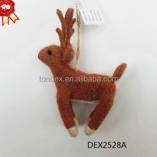 Reindeer Christmas Crafts With Best Price Hanging Handmade Christmas Ornaments/ Christmas Decorations